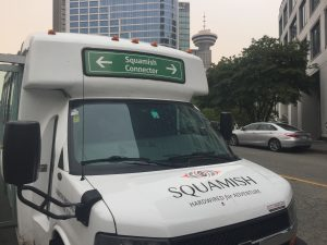 Vancouver to Squamish Shuttle